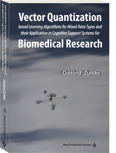 Vector Quantization based Learning Algorithms for Mixed Data Types and their Application in Cognitive Support Systems for Biomedical Research